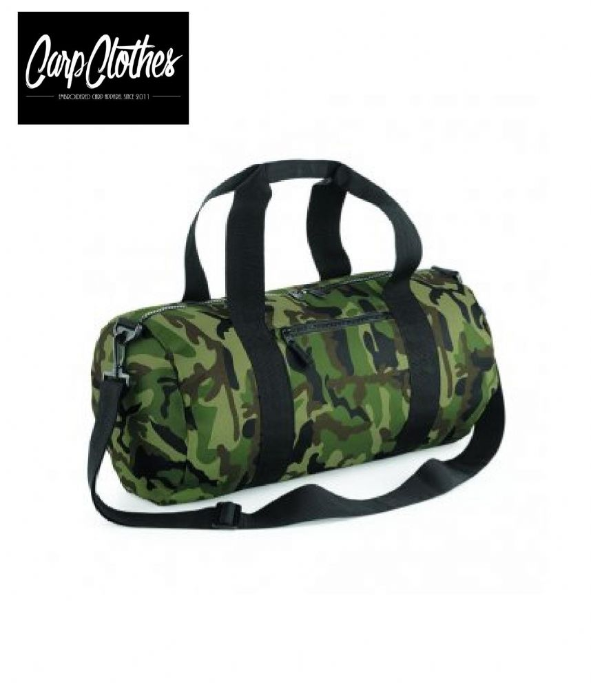 CARP CLOTHES CAMO BARREL BAG FOR CLOTHING